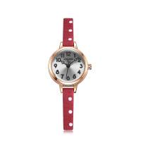 聚利时新品小表盘波点复古手表女时尚潮流石英学生女士手表1022