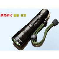 安全手电筒户外轻便强光手电筒迷你充电远射防水进口T6升级版
