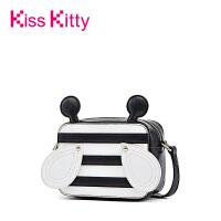 Kiss Kitty女包2017新款可爱小蜜蜂造型单肩包潮流时尚斜挎包方包