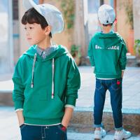 童装男童卫衣新款春装中大儿童外套男孩春款连帽衫上衣韩版潮