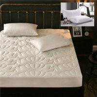 床笠纯棉 加厚夹棉全棉床罩席梦思床垫保护套单件1.8米床垫套