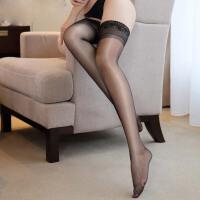 情趣内衣女骚套装 制服诱惑15D裸氨包芯丝硅胶防滑丝袜女7229