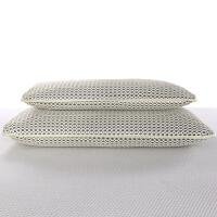 3D透�饪伤�洗枕芯 �x防�菌定型枕芯�稳穗p人枕�^