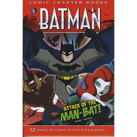 英文原版 Attack of the Man-Bat! (Batman: Comic Chapter Books)