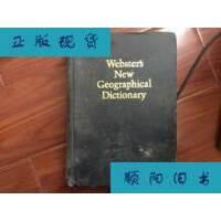 【二手旧书9成新】Webster\s New Geographical Dictionary韦氏