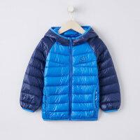 【1件3折到手价:82.77】美特斯邦威旗下moomoo童装男童超轻羽绒服新款冬季装鸭绒洋气中大儿童外套
