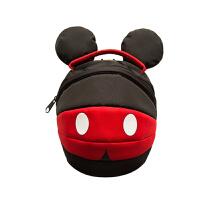 迪士尼儿童防走失背包宝宝可爱女孩1-3岁男童双肩包幼儿园小书包