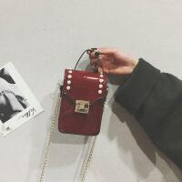 包包女韩版斜挎包潮亮面手机包链条单肩迷你小包
