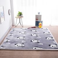 加厚榻榻米地垫珊瑚绒卧室客厅地毯飘窗儿童宝宝爬行垫
