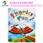 现货香港朗文少儿拼读语音教材Phonics fun6级课本+练习册