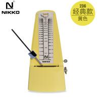 NIKKO尼康机械节拍器钢琴小提琴吉他古筝架子鼓节奏器通用
