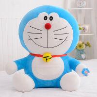 叮当猫毛绒玩具蓝胖子抱枕哆啦A梦玩偶公仔娃娃生日礼物女生 经典微笑款叮当猫 62厘米