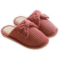 20191124055441399棉拖鞋女冬季情侣居家保暖家用防滑厚底家居可爱产后月子棉鞋男士