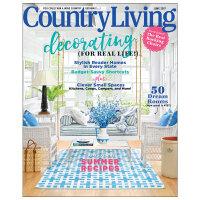 进口原版年刊订阅 Country Living(US) 室内设计家居杂志 美国英文原版 年订10期