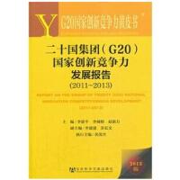 二十国集团国家创新竞争力发展报告(2013版2011-2013)/G20国家创新竞争力黄皮书