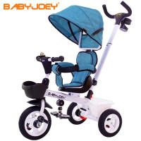 尖货英国Babyjoey儿童三轮脚踏车宝宝自行车1-3-5岁小孩推车童车