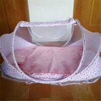 婴儿蚊帐罩免安装可折叠防蚊床蒙古包儿童蚊帐蚊帐0-3岁