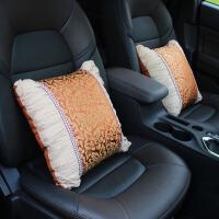 车用抱枕一对四季通用护腰靠垫个性枕头腰靠车内腰枕汽车内饰用品