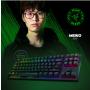 Razer雷蛇键盘 BlackWidow X 黑寡妇蜘蛛机械键盘(绿轴),竞技幻彩版(87键)/幻彩版(104键)可选,雷蛇游戏键盘/雷蛇机械键盘