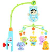 新生儿床铃 宝宝0-6-12个月音乐旋转儿童床头摇铃男女孩婴儿玩具 抖音