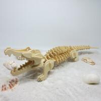 3D立体拼图木质恐龙模型拼装儿童玩具木制船飞机手工礼物