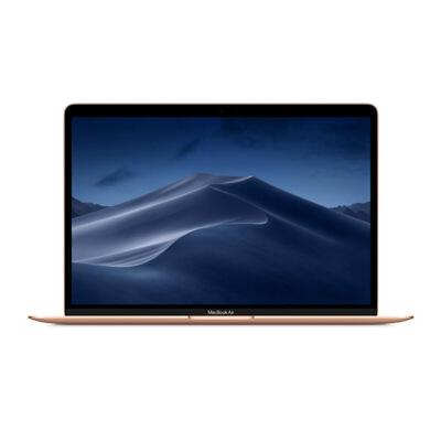 Apple MacBook Air 13.3英寸笔记本电脑 金色(2018款Retina屏/八代Core i5 /8GB内存/256GB闪存 MREF2CH/A) 国行正品 全国联保 支持礼品卡