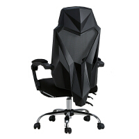 黑白调电脑椅家用电竞椅宿舍椅子人体工学座椅舒适久坐可躺办公椅kb6