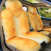 新款全包冬季澳洲羊毛坐垫毛绒汽车垫皮毛一体长毛汽车座垫套通用