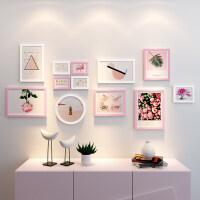 简约现代照片墙创意个性相框墙组合墙上背景挂墙相片框一面墙装饰