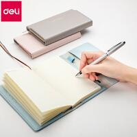 笔记本文具商务皮面本子记事手账日记加厚小随身手包清新办公用品