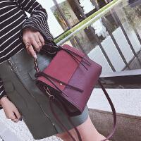 欧美时尚手提包包女秋冬新款潮大容量简约斜挎包百搭单肩女包