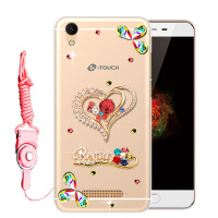 天语4a手机壳K-Touch 4A保护套防摔个性全包边软硅胶潮水钻女款