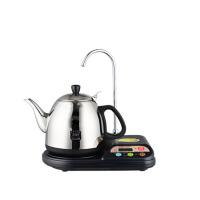 热水壶泡茶抽水器自动上水电茶具烧水壶电茶炉 黑色
