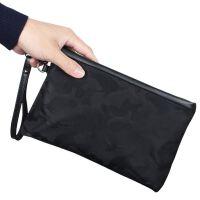 男士商务横款公文包布男包手拿公事包工文包工作业务包手提包