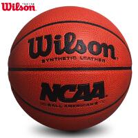 wilson威尔胜篮球 吸湿耐磨l篮球室内外通用lanqiu定制款篮球
