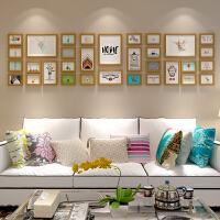 简约现代客厅照片墙相框墙欧式创意背景挂墙相框相片墙大尺寸组合