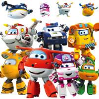 奥迪双钻超级飞侠套装全套玩具大号乐迪巴奇雪儿童变形机器人男孩