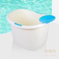 儿童洗澡桶婴儿浴盆小孩泡澡桶新生儿宝宝用品沐浴桶可坐大号浴桶YDME