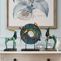 摆件家居饰品 酒柜装饰品电视柜创意客厅工艺品简约现代北欧风格
