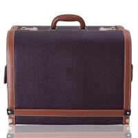玛莎拉蒂Levante Ghibli汽车储物箱车载箱后备箱整理箱收纳箱 深棕色 玛莎拉蒂领御系列