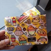 韩国迷你环保超市购物袋帆布可折叠简约百搭便携买菜包牛津布女包 横向大号