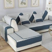 沙发垫子布艺坐垫四季防滑欧式现代简约沙发巾全包定做全盖通用