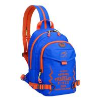 儿童斜挎包男童旅游单肩包户外休闲胸包小学生多功能背包女童 830包 蓝色