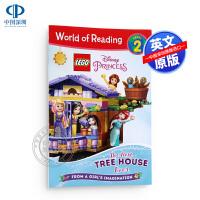 现货英文原版 阅读世界 level 2 乐高迪士尼公主:最好的树屋 LEGO Disney Princess: The