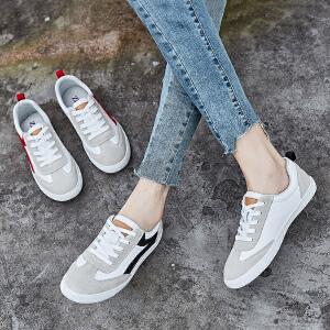 ZHR2018秋季新款韩版小白鞋平底休闲鞋板鞋时尚百搭男鞋潮流鞋子