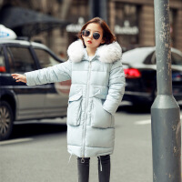 货比迪士尼巴拉巴拉等女童棉衣2018冬装新款儿童韩版洋气棉袄外套中大童加厚羽绒