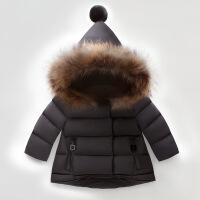 女童冬装棉衣2018新款韩版4女宝宝0-5岁加厚1时髦23棉