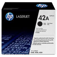 惠普原装正品 hp Q5942A黑色激光打印硒鼓 hp42A墨粉盒 惠普hp LaserJet 4250 4350打印