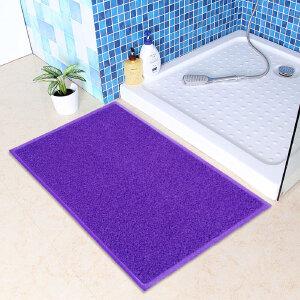 享家素色加厚蹭泥防滑脚垫除尘垫40*60�M 大门口入户进门地毯门厅门垫地毯地垫