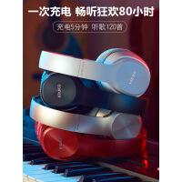 ?W820BT 新款蓝牙耳机头戴式电脑手机无线折叠耳麦运动跑步游戏音乐超长待机HIFI带麦克风耳机